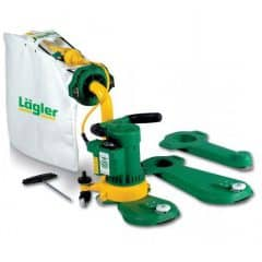 The Lagler Flip Edger has maximum efficiency for perfect, comfortable sanding of edges and corners without shoulders. The heart of the Flip Edger is the powerful motor with its enormous suction power and corresponding reserves. The unexpectedly handy weight of the Lagler Flip is due to the abrasion proof, glass fibre reinforced plastic used in the motor casing, handle and attachment.